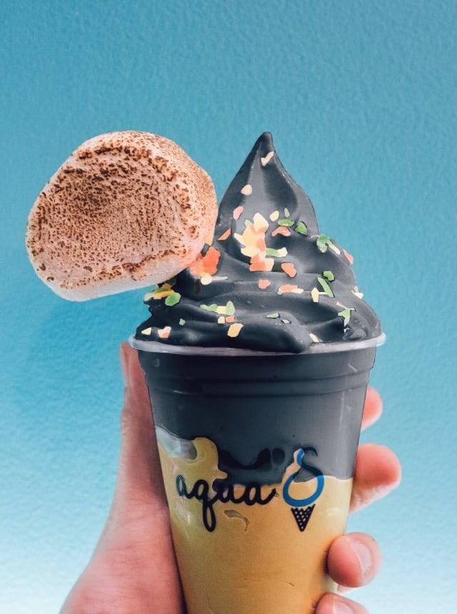 The Idea Of Doing Sea Salt Soft Serve Initially Came From Okinawa An